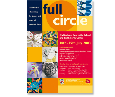 Exhibition graphics - full circle