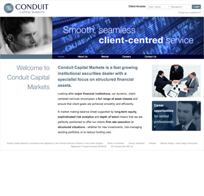 Website - Conduit Capital Markets